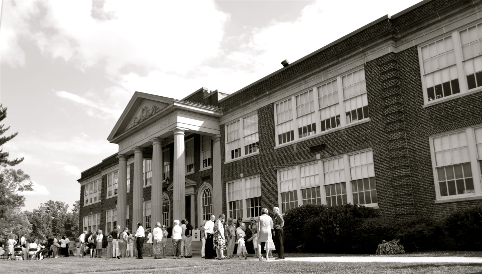 The historic McIntire building has been home to The Covenant School for 35 years.