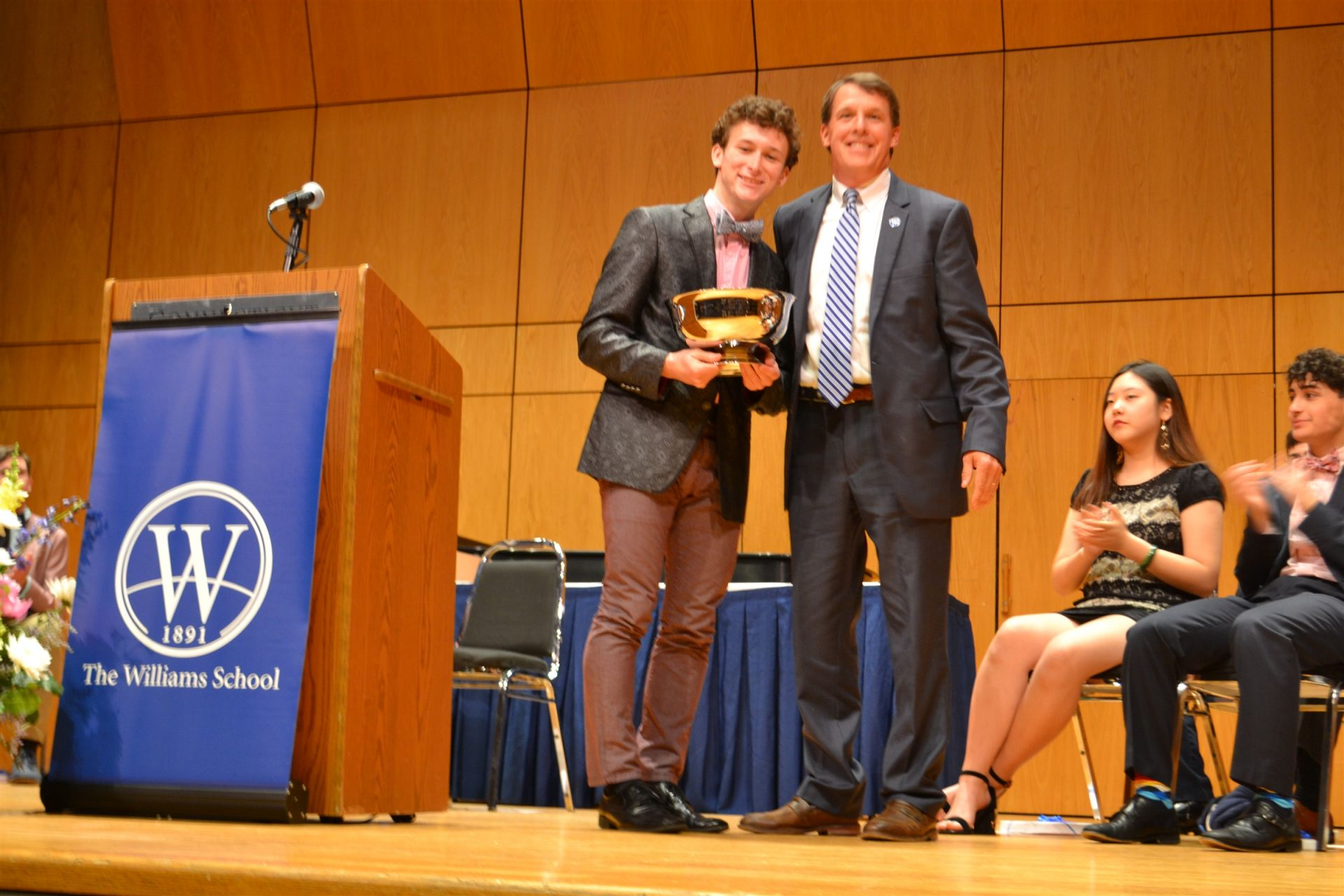 Samson was also awarded the Colin S. Buell Memorial Prize.