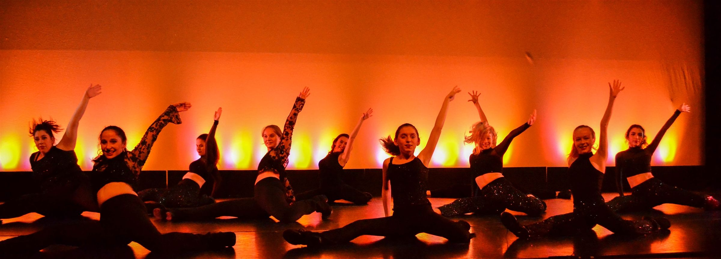 Middle and Upper School Dancers