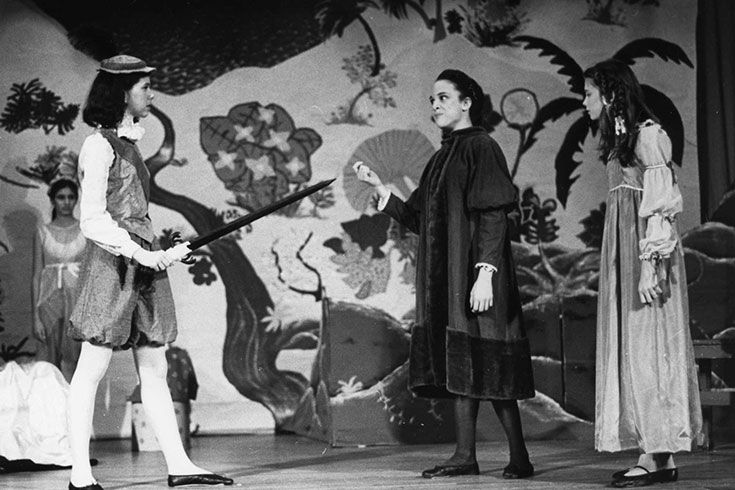 "The Class IV Shakespeare play tradition begins with the production of ""Twelfth Night."""