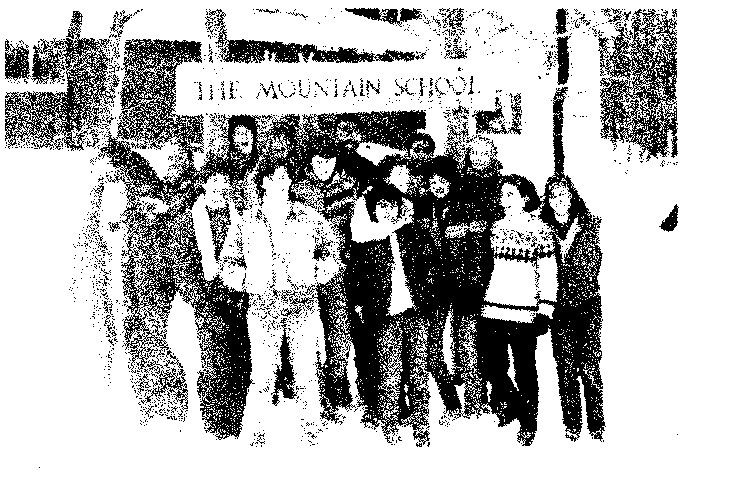 Winsor begins offering a semester at the Mountain School, the first of many off-campus study opportunities..