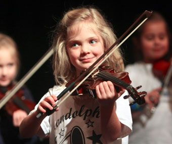 1st grade violin program