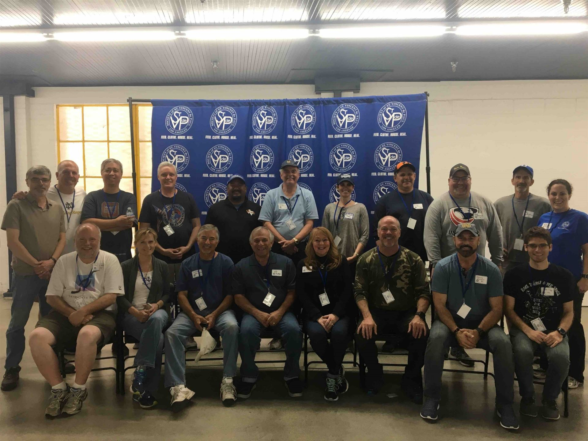 Notre Dame alums from LA and Orange County gathered at the Society of St. Vincent de Paul near Downtown LA  Saturday, April 28 for a day of service. More pictures to come!