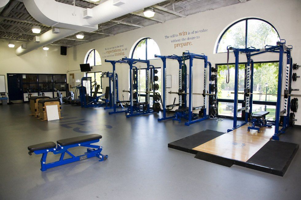 Our weight and cardio room is run by a full-time personal trainer.