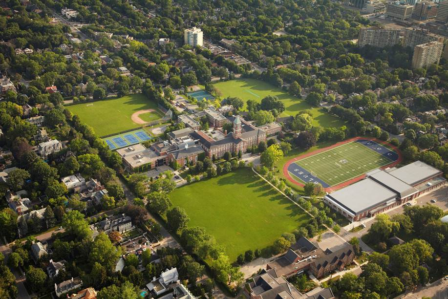 UCC is located in a quiet residential neighbourhood in the heart of Toronto, Canada.