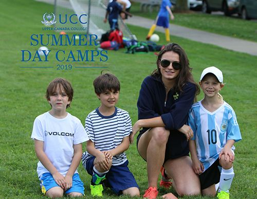 Summer Camp Brochure Cover