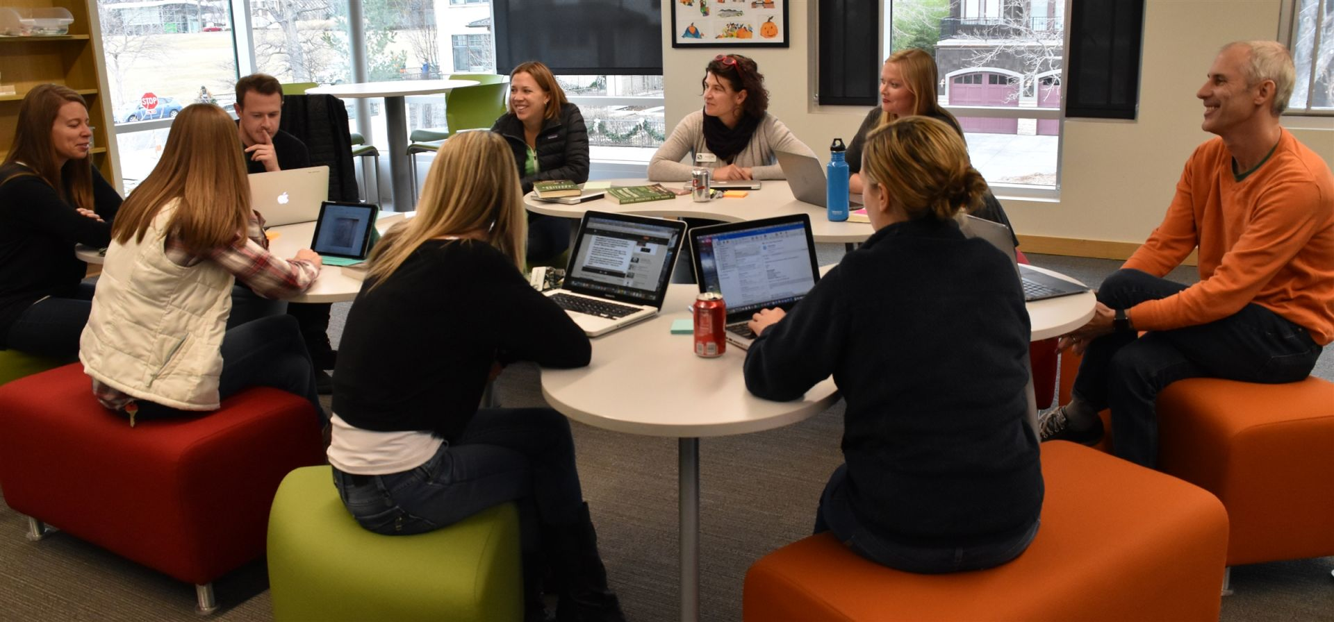 With several professional days built into the school year, teachers have time to deepen their connections and grow their skills.