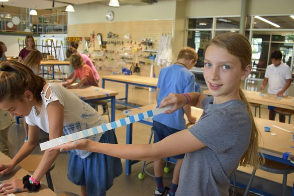 Sixth graders built cyanometers for a year-long assignment of observing the sky's changing colors. Go learn!