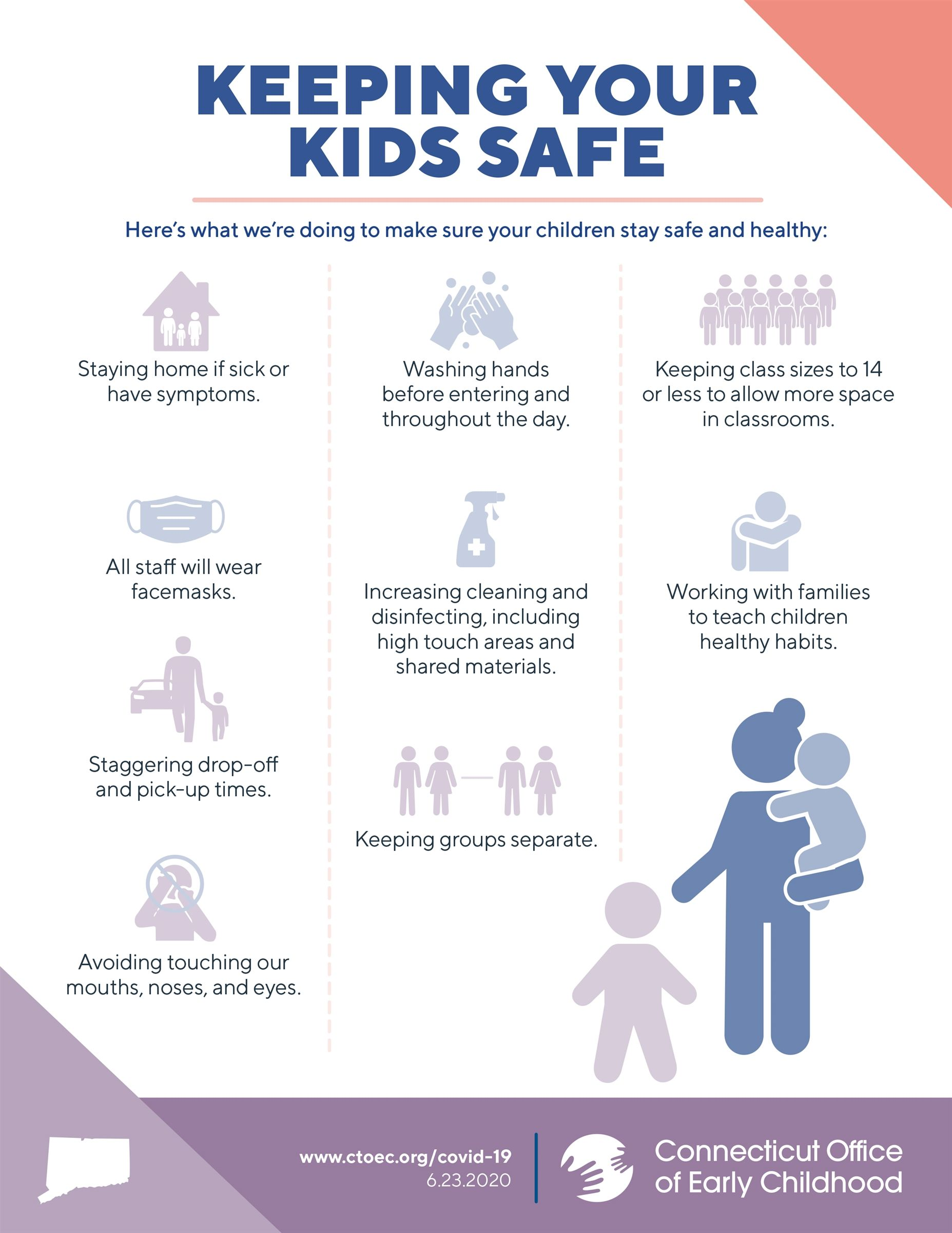 Keeping your kids safe graphic