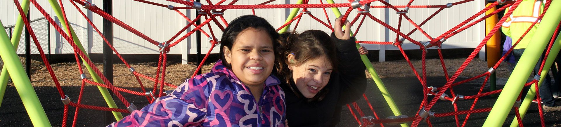 Students in the playground