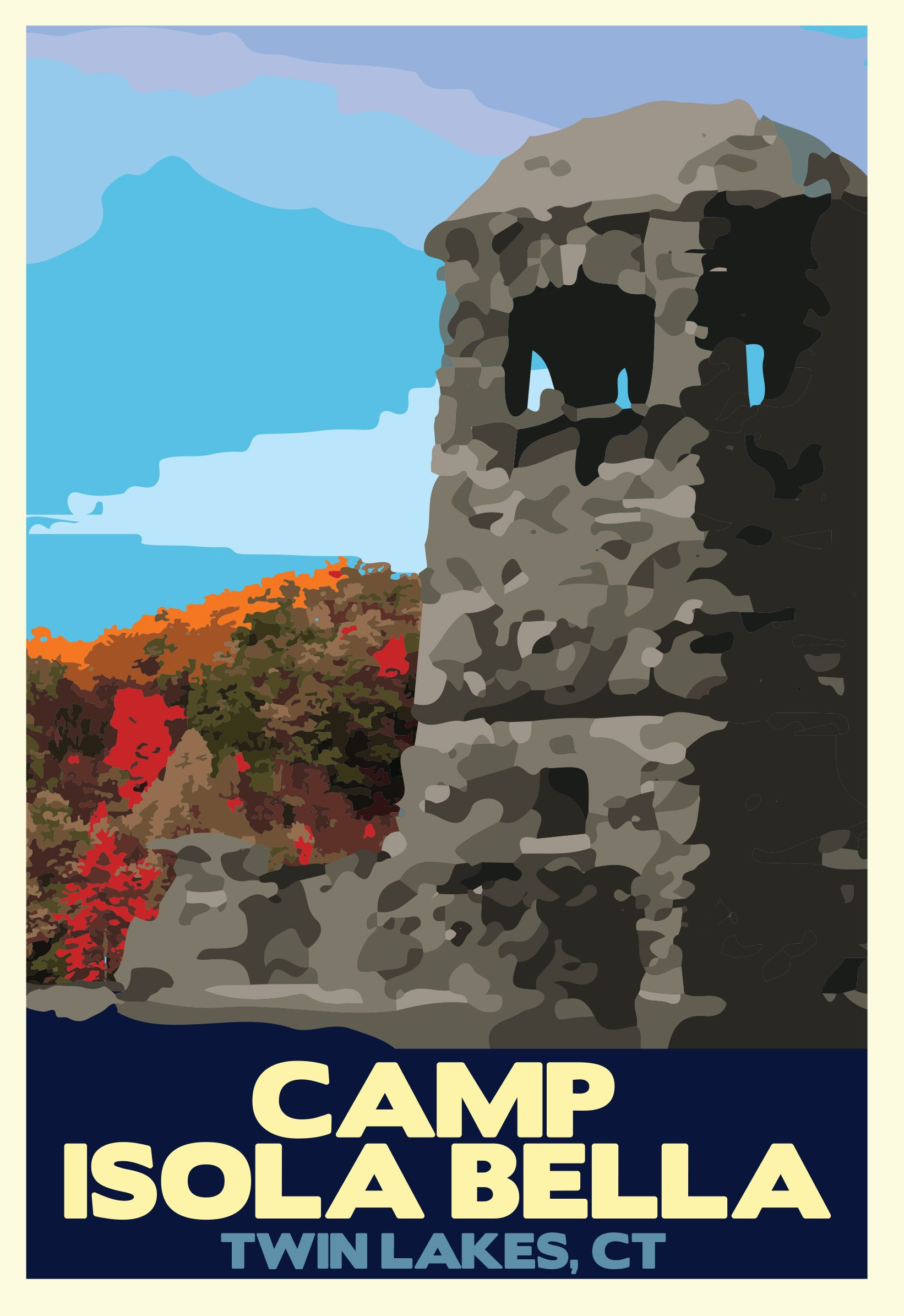 Camp Isola Bella Poster
