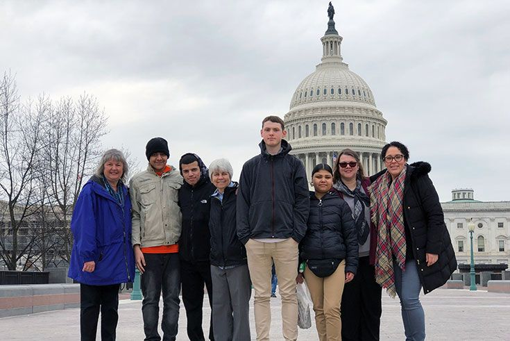 field trip to Washington DC