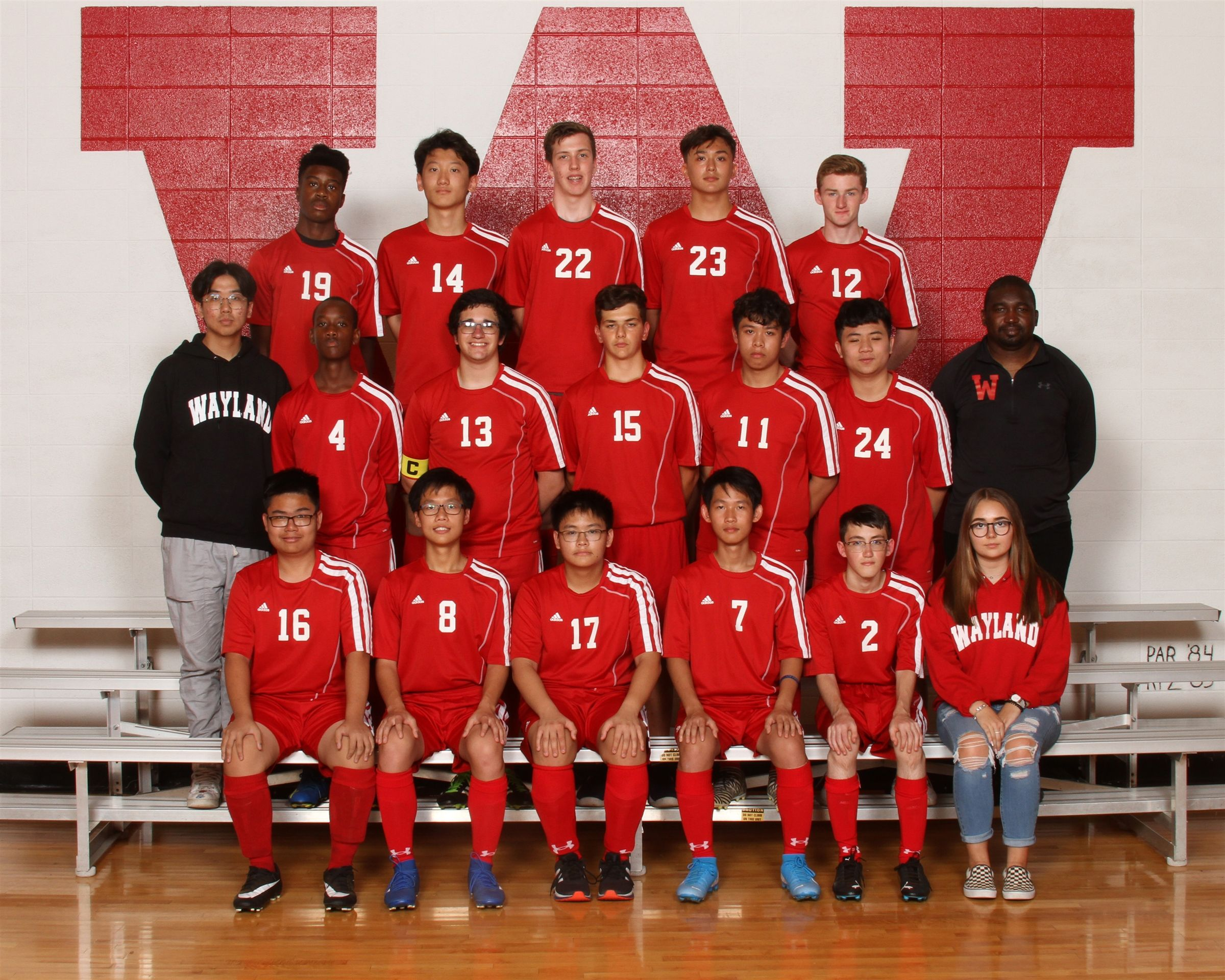 Boys Junior Varsity Soccer 2019