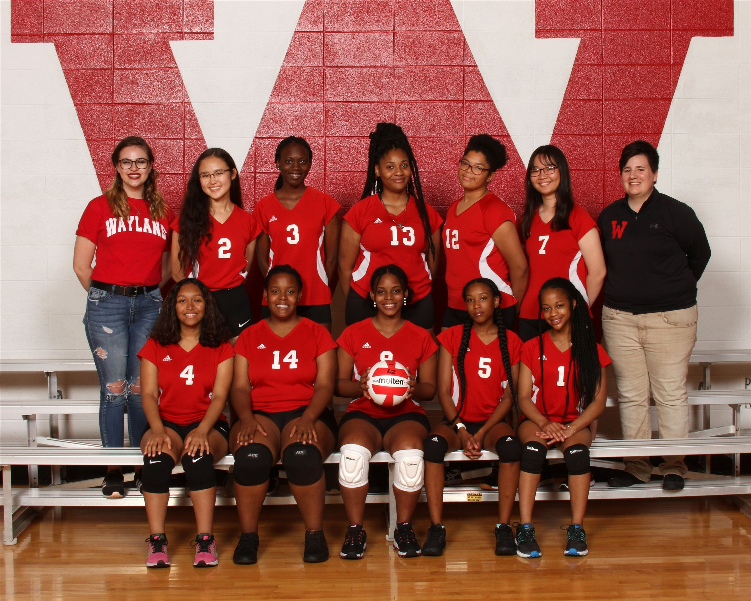 Girls Junior Varsity Volleyball 2019