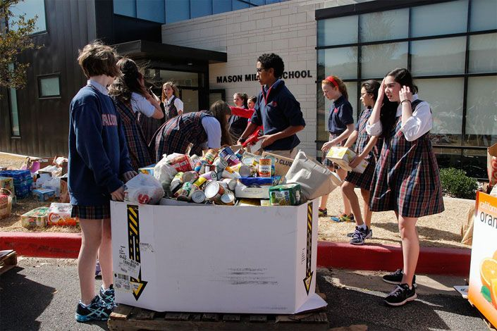 Community Service - Canned Food Drive