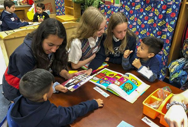 Honors Spanish Ellis Elementary Visit