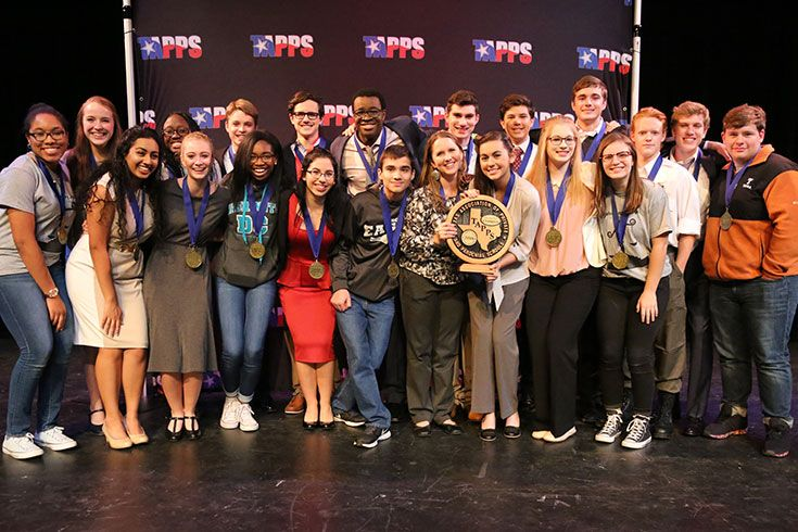 TAPPS One-Act Play Champions