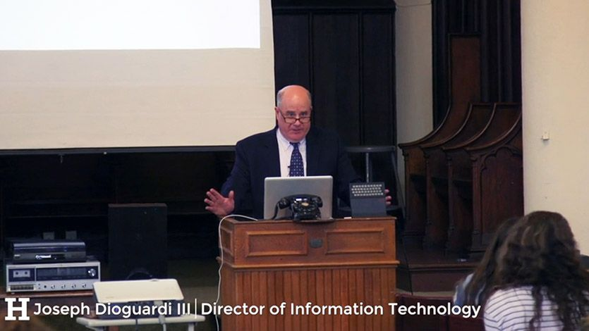 Jed Dioguardi III, Technology through the Ages
