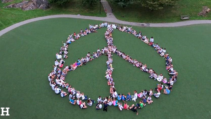 LS Peace One Day Peace Sign