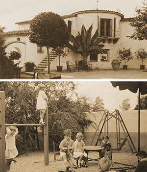 The first classes began in 1926 and were held in the Bourne family home in San Marino.