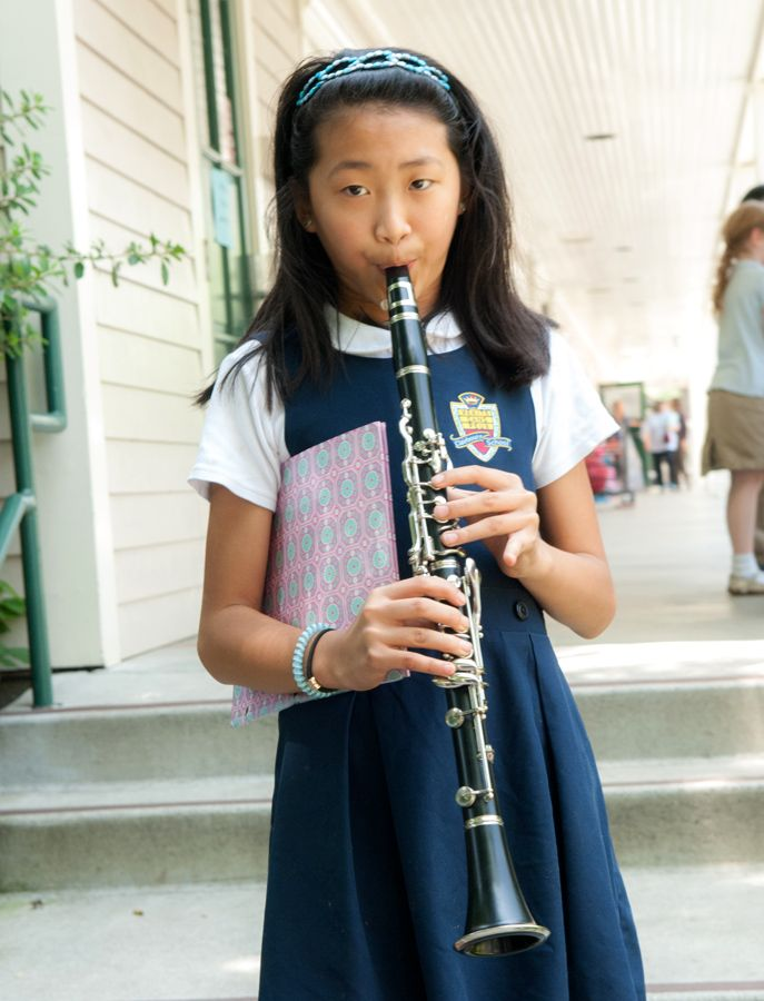Student are taught responsibility through the opportunity to care for their instruments and to remember bring them to school.