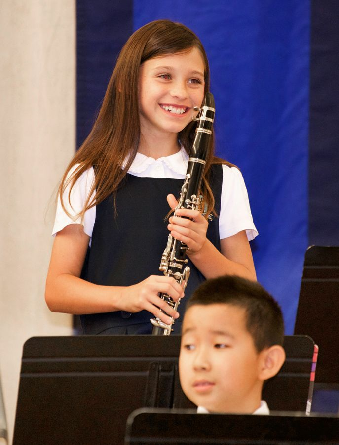 Music studies enhance the curriculum and provide students with a sense of personal expression and accomplishment.