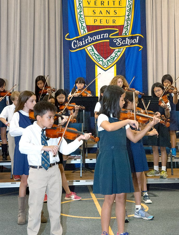 String students perform at the Instrumental Concert.