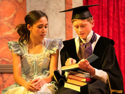 Productions are full-text, and students in lead roles learn time-management and memorization skills.