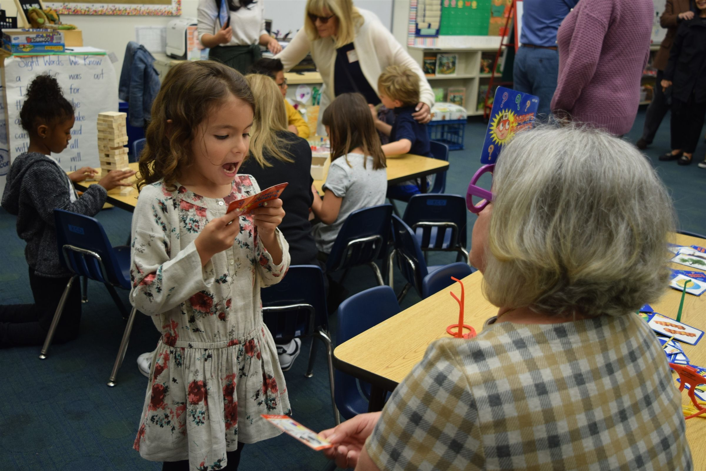 Over 500 grandparents and friends visit CEE on this special day each May.