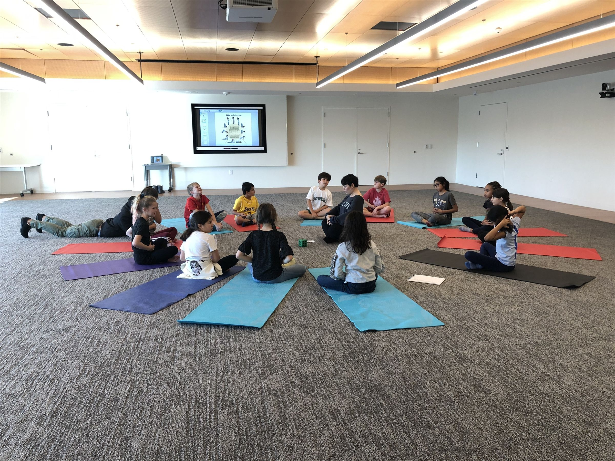 Students now have the opportunity to choose non-graded elective courses such as Yoga, Architecture, and Storytelling.