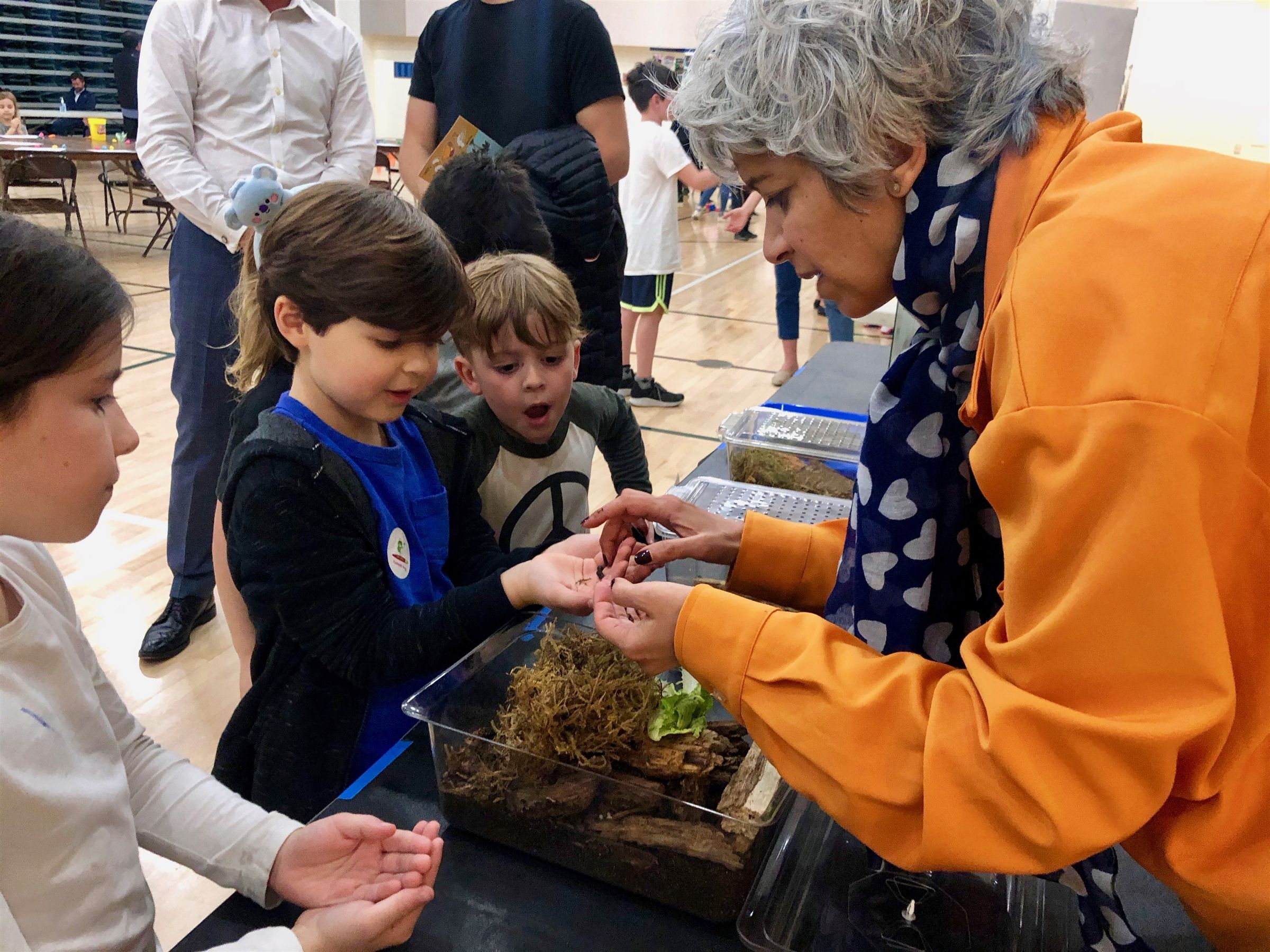At the 3rd Annual STEAM Festival, families enjoyed over 30 interactive activity stations.
