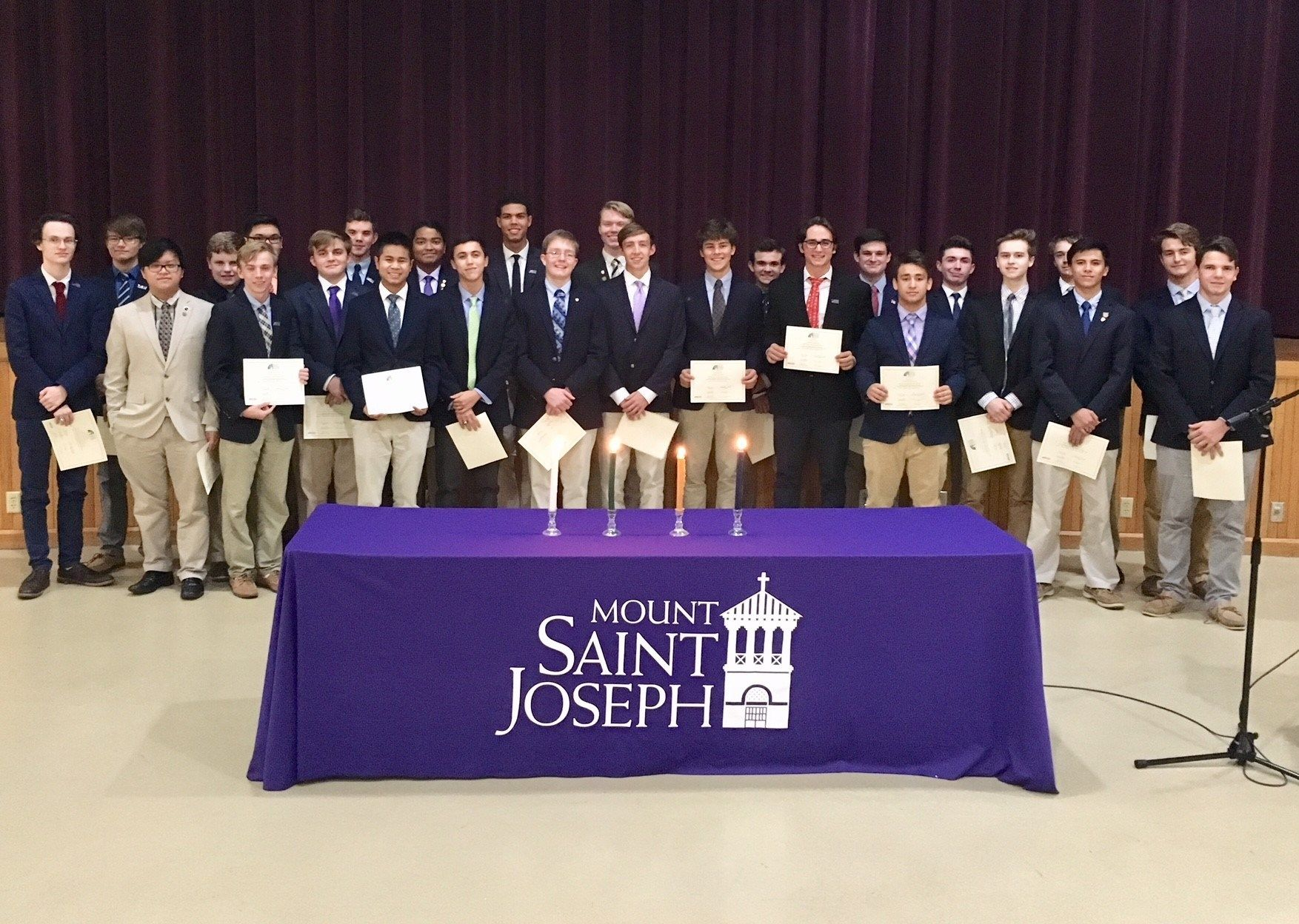 Rho Kappa (National Social Studies Honor Society) Inductions