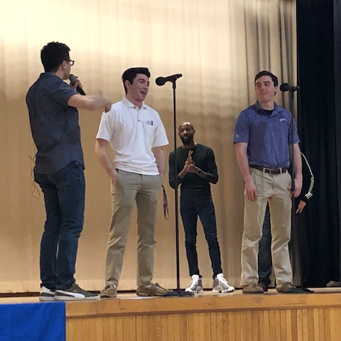 Ball in the House, a cappella group