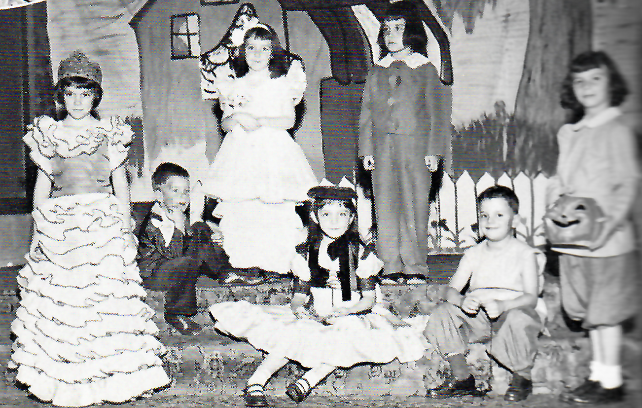 Halloween Pageant from the 1940