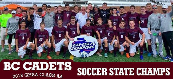 2018 Soccer State Champs