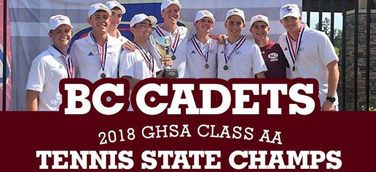 2018 Tennis State Champs