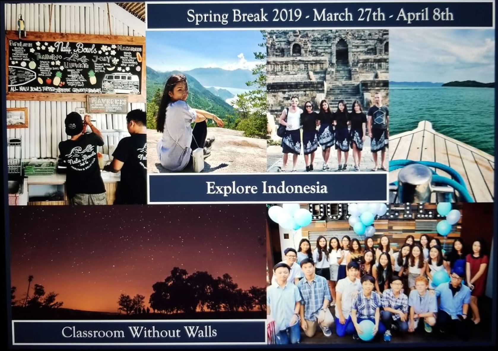 Travel Opportunities - St  Mary's School