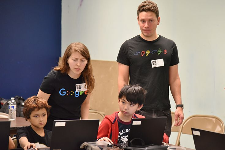 Learning to code with Google