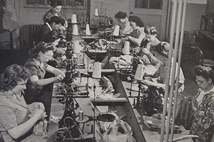 1930s - Vocational Department Sewing Class
