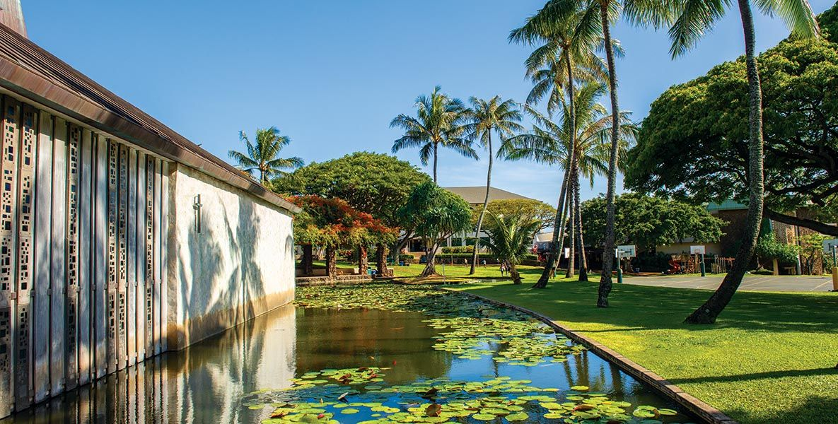 Photo of the Punahou campus