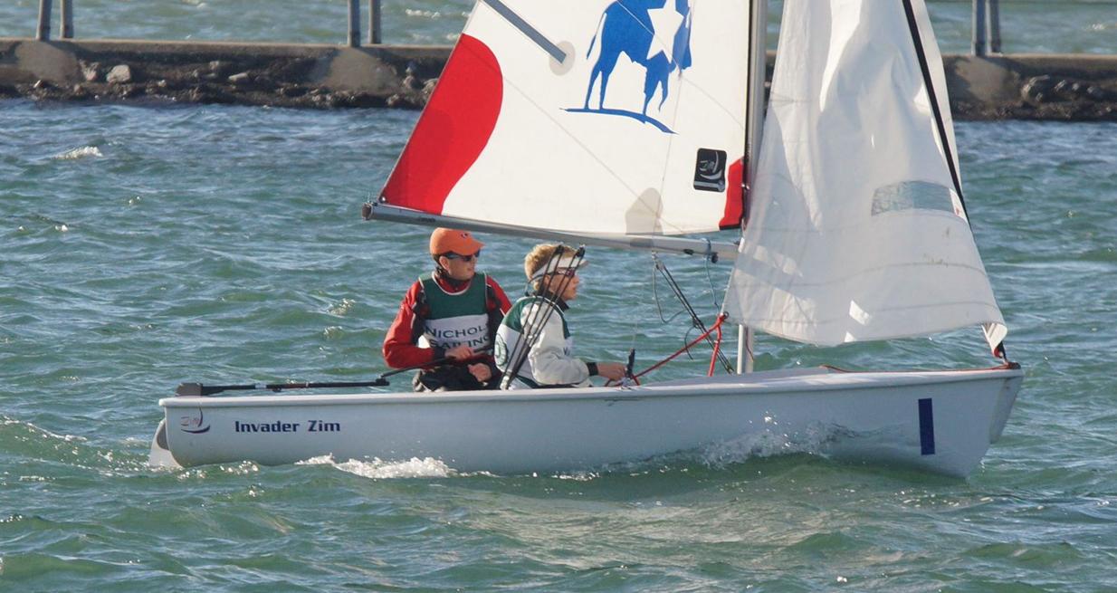 sam thompson nichols school sailing
