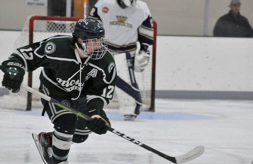 cameron ricotta nichols school hockey