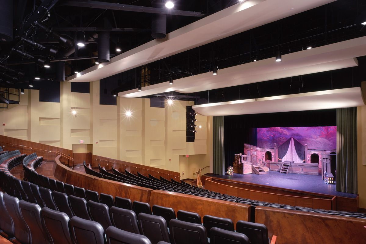 The Milligan Center offers seating for more than 400, and the technical and backstage facilities of a professional theater.