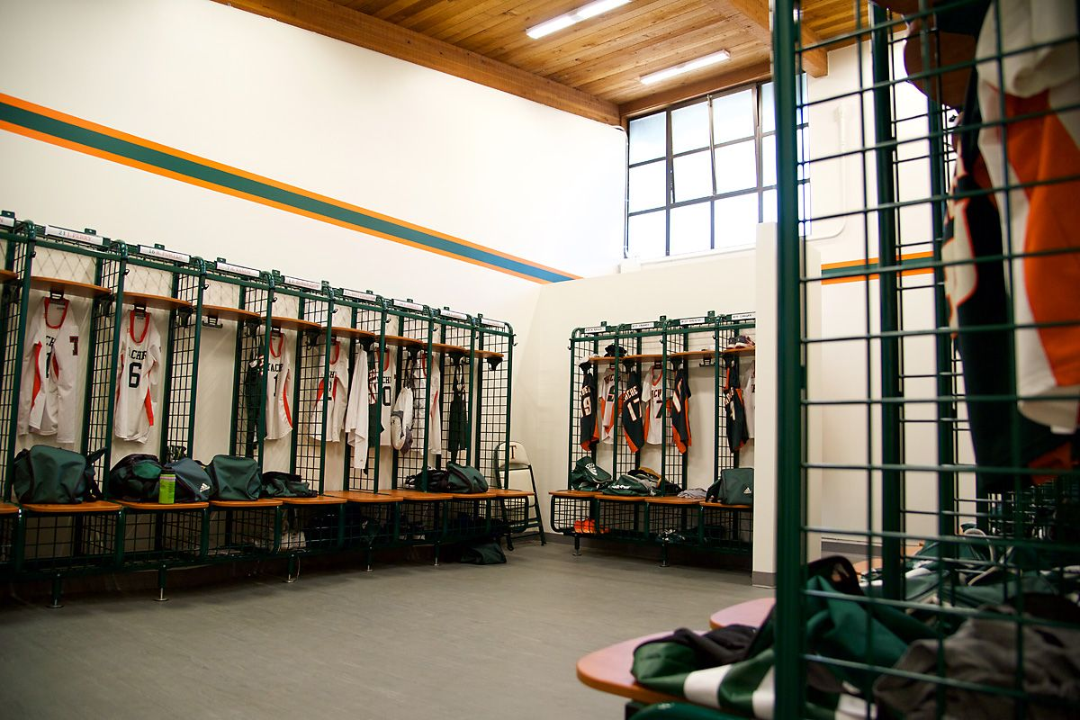 Thacher's state of the art locker rooms were recently upgraded.