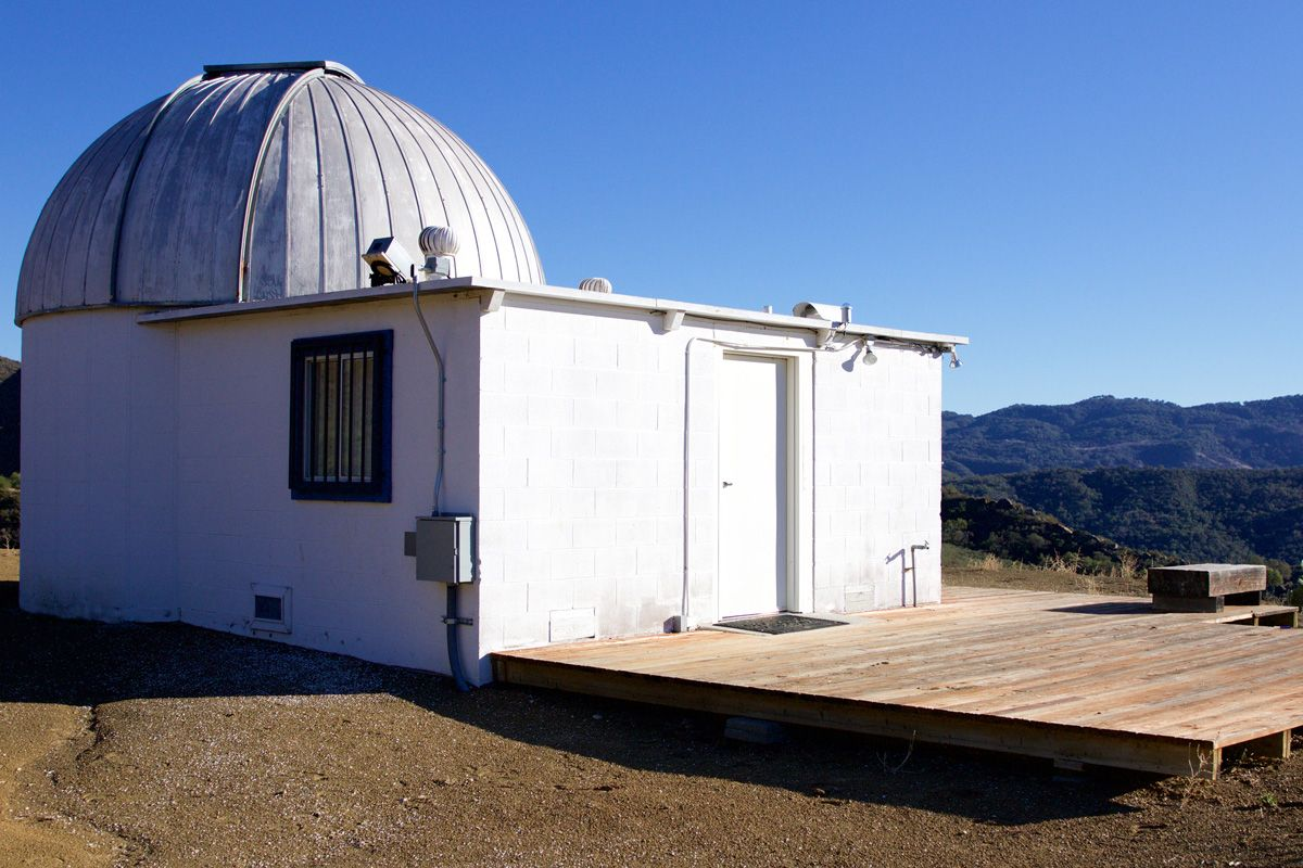 The Thacher astronomy program has a long and storied history and has even lured the likes of Edwin Hubble to campus.