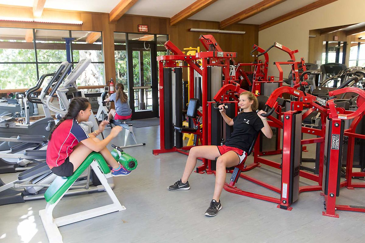 Weights and cardio equipment for use by teams and the campus community.