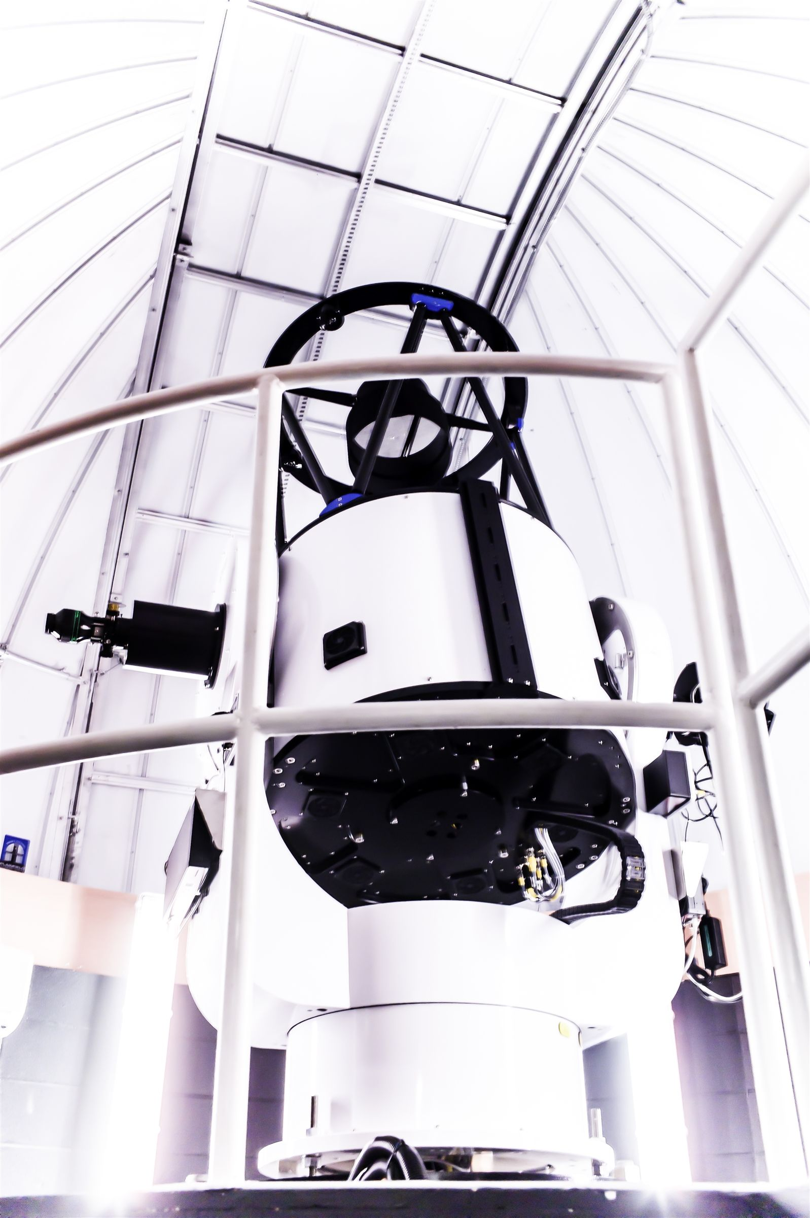 The telescope itself.