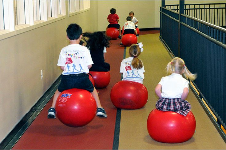 Daily P.E. and daily recess in Lower School reflect our commitment to healthy minds and bodies.