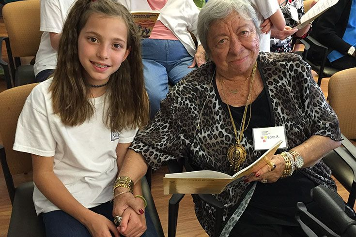 """My favorite moment in fourth grade was when we visited Amazing Place and spread smiles to people with Alzheimer's."""