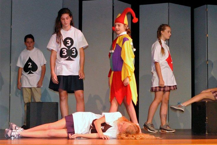 From the earliest years, ROBS is working to grow students into confident public speakers. Seventh graders who elect Theater Arts class take to the stage eager to perform for friends, family, and faculty.
